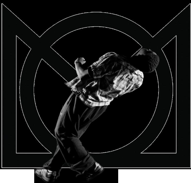 danseur sur le point de tomber