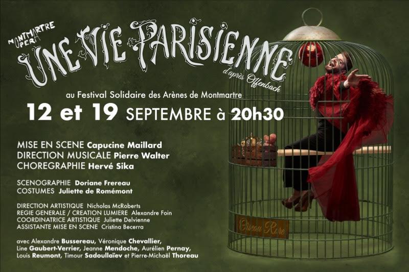 Opéra Montmartre – «Une Vie Parisienne»